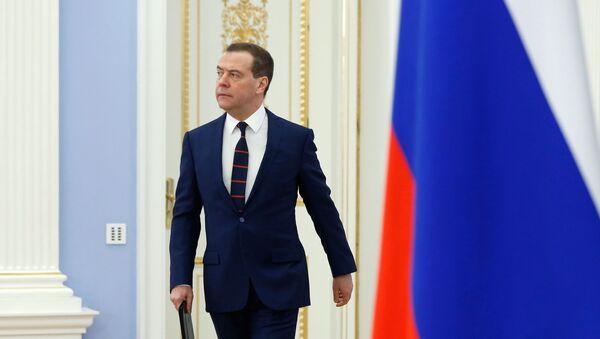 Председатель правительства РФ Дмитрий Медведев - Sputnik Беларусь