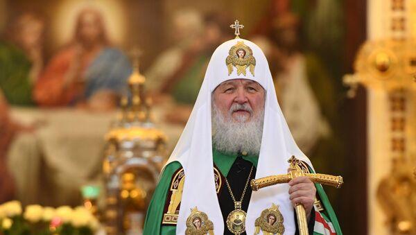 Патриарх Московский и всея Руси Кирилл - Sputnik Беларусь