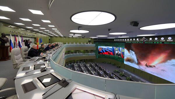 Нацыянальны цэнтр кіравання абаронай РФ, архіўнае фота - Sputnik Беларусь