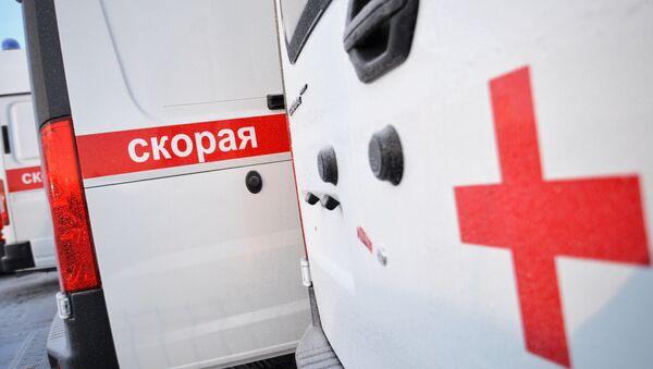 Автомобили скорой помощи, архивное фото - Sputnik Беларусь