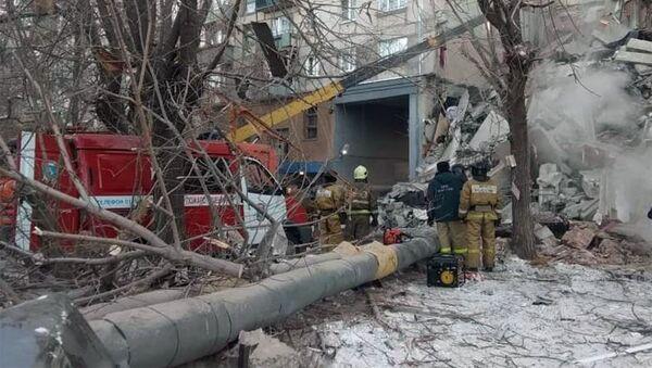 Взрыв бытового газа в жилом доме в Магнитогорске - Sputnik Беларусь