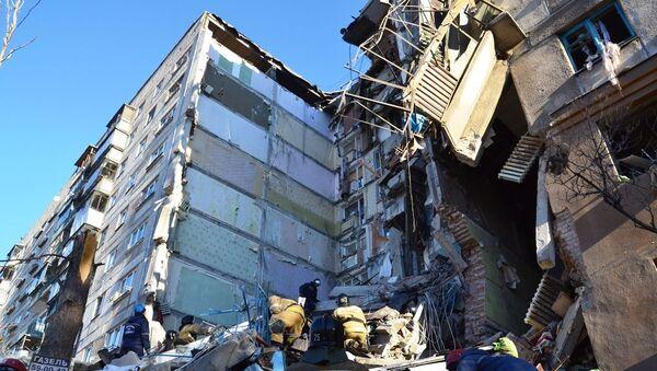 Дом, в котором произошел взрыв газа - Sputnik Беларусь