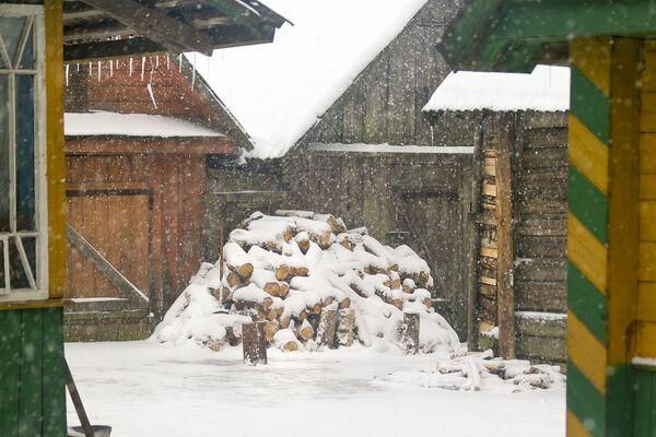 Снегапад працягваўся некалькі дзён. - Sputnik Беларусь
