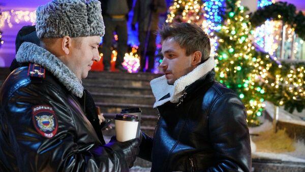 Кадр из фильма Полицейский с Рублевки. Новогодний беспредел  - Sputnik Беларусь