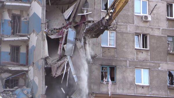 Техника работает на месте взрыва в доме в Магнитогорске - Sputnik Беларусь