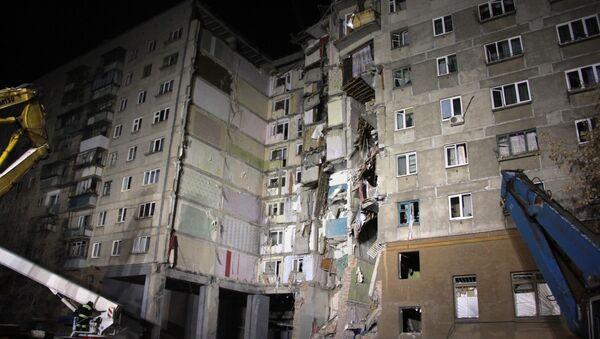 Ситуация в Магнитогорске в связи с обрушением подъезда жилого дома - Sputnik Беларусь
