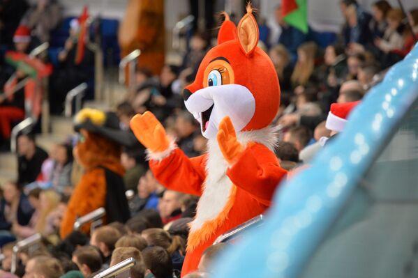 Трибуны на первом матче в рамках XV Рождественского международного турнира - Sputnik Беларусь