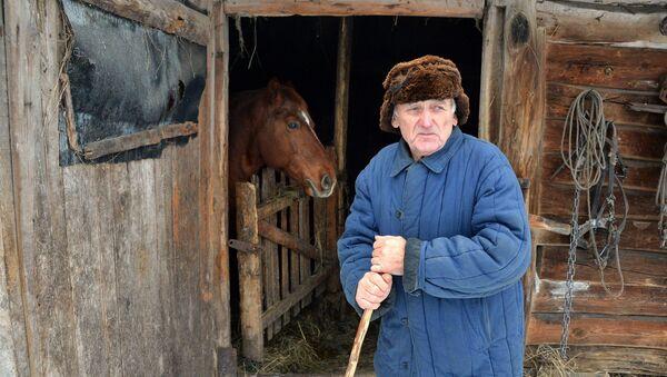 Деревня Кудричи в белорусском Полесье  - Sputnik Беларусь