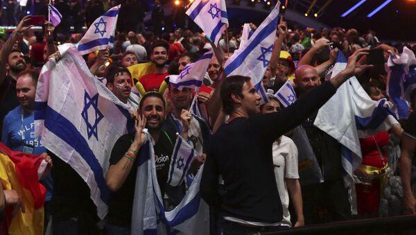 Фанаты из Израиля на Евровидении-2018 - Sputnik Беларусь