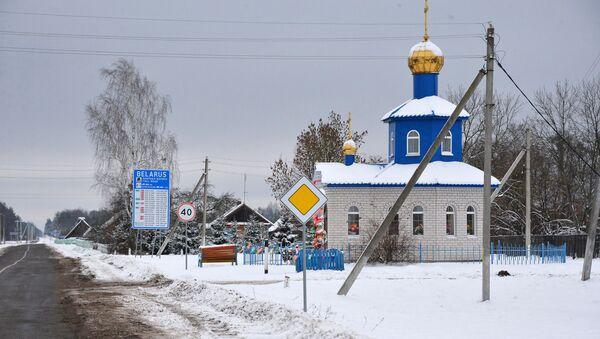 Белорусско-украинская граница - Sputnik Беларусь