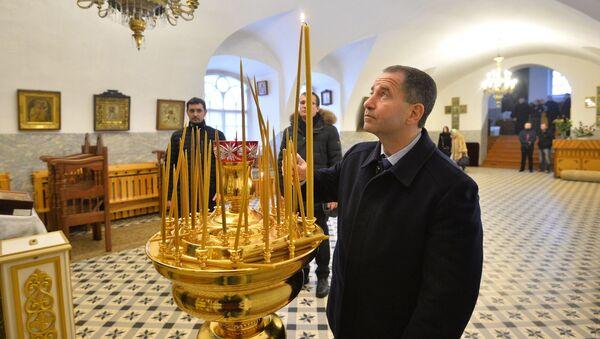 Посол России в Минске Михаил Бабич посетил Жировичский монастырь - Sputnik Беларусь