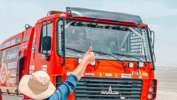 МАЗ Вязовіча заняў трэцяе месца на этапе Дакара - Sputnik Беларусь