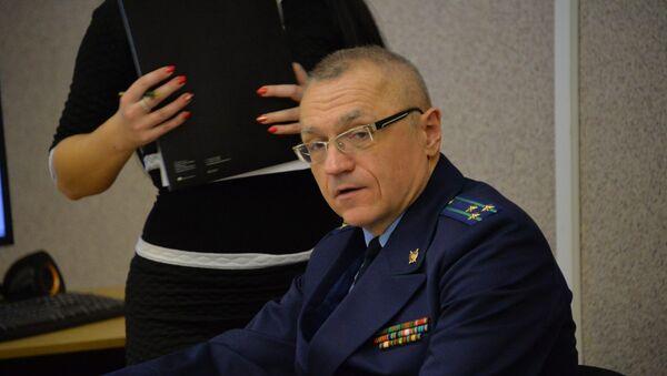 Государственный обвинитель Юрий Шерснев - Sputnik Беларусь