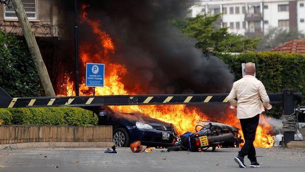 Место теракта в Найроби - Sputnik Беларусь