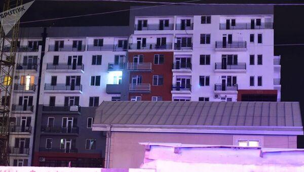 Взрыв газа произошел в жилом доме в Тбилиси - Sputnik Беларусь