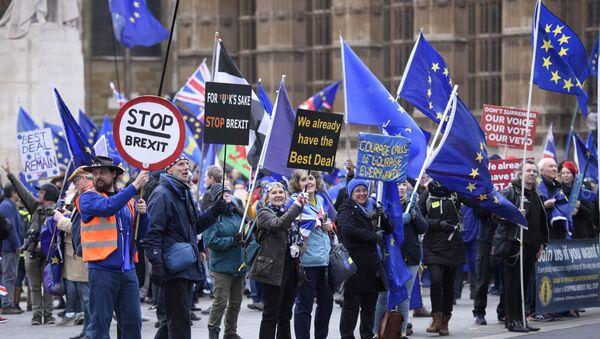 Акция против Brexit в Лондоне - Sputnik Беларусь