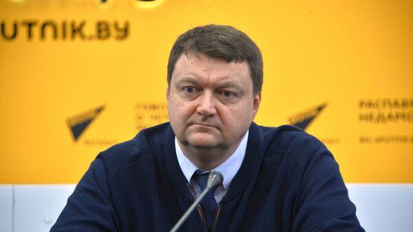 Начальник отдела по развитию олимпийского движения НОК Республики Беларусь Дмитрий Довгаленок - Sputnik Беларусь