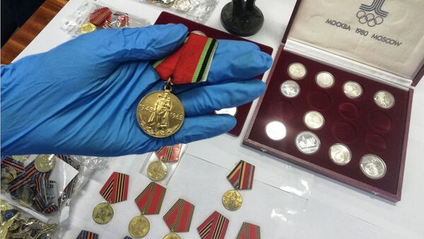Адзін з медалёў - Sputnik Беларусь