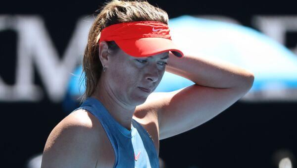 Расіянка Марыя Шарапава на Australian Open - Sputnik Беларусь