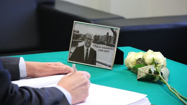 Книга соболезнований в связи со смертью мэра Гданьска открыта в посольстве Польши  - Sputnik Беларусь