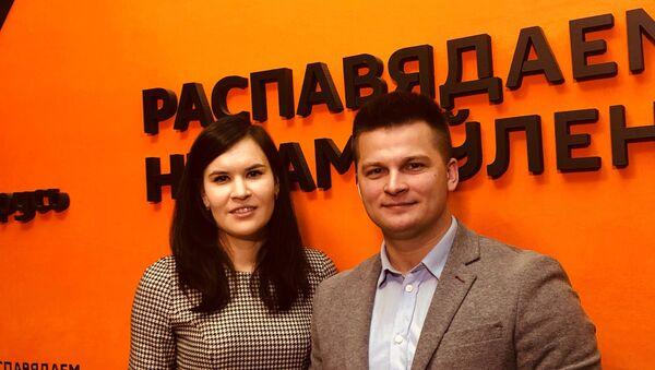 Еракіна і Лук'янаў: 2019 год будзе асаблівым для моладзі Саюзнай дзяржавы - Sputnik Беларусь