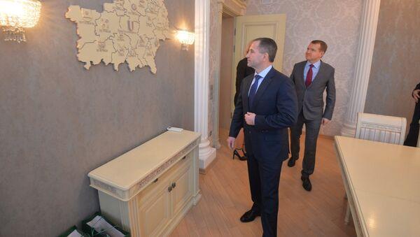 Пасол Расіі Міхаіл Бабіч у Гомельскай вобласці з рабочым візітам - Sputnik Беларусь