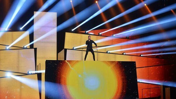 Сяргей Лазараў (Расія) на конкурсе песні Еўрабачанне 2016 у Стакгольме - Sputnik Беларусь
