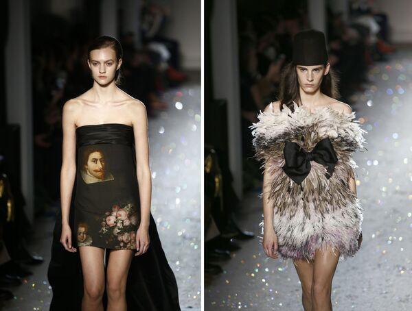 Неделя высокой моды в Париже: Giambattista Valli - Sputnik Беларусь