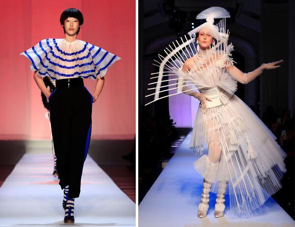 Неделя высокой моды в Париже: Jean Paul Gaultier - Sputnik Беларусь