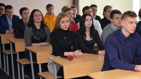 Студэнты, архіўнае фота - Sputnik Беларусь