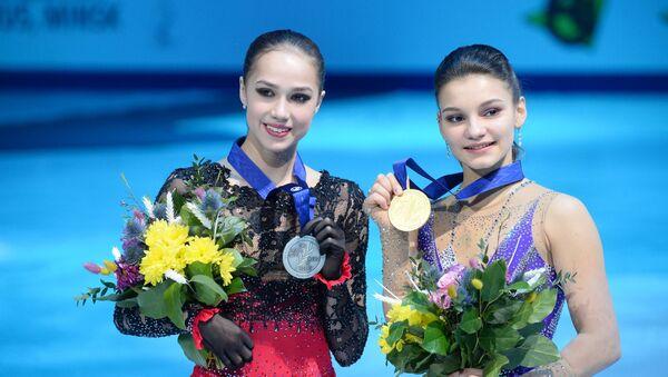 Аліна Загітава і Соф'я Самадурава - Sputnik Беларусь