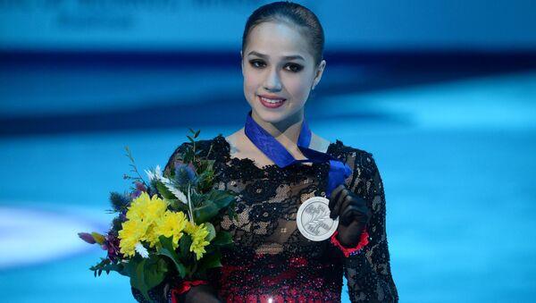 Алина Загитова - серебряный призер Чемпионата Европы по фигурному катанию - Sputnik Беларусь