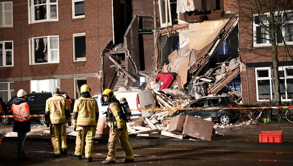 Взрыв в многоквартирном доме в Гааге - Sputnik Беларусь