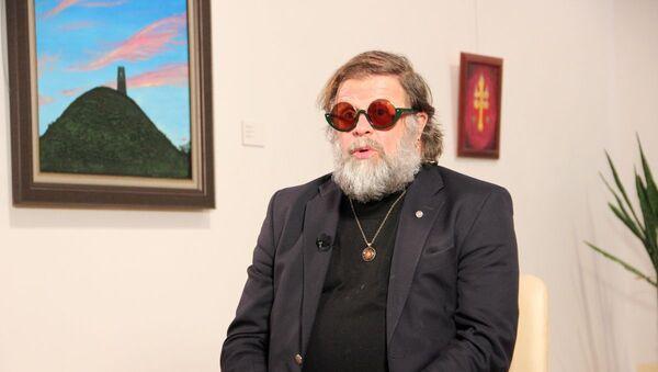 Борис Гребенщиков привез в Минск выставку Тотемы Зимогоров - Sputnik Беларусь
