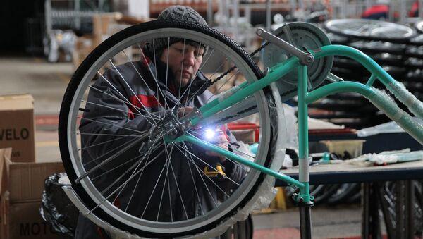 Минские велосипеды - бренд с многолетней историей - Sputnik Беларусь