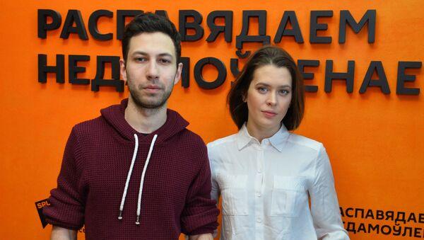 Голубева і Бекір: у праекце Песня песняў мы максімальна аголеныя - Sputnik Беларусь
