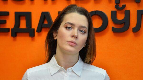 Актрыса купалаўскага тэатра, спявачка Марта Голубева - Sputnik Беларусь