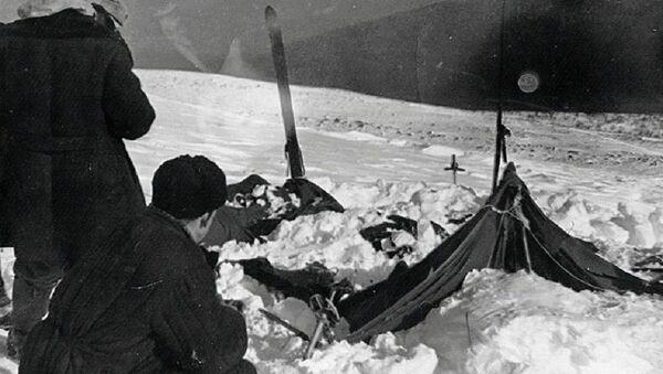 Вид на найденную палатку группы Дятлова - Sputnik Беларусь