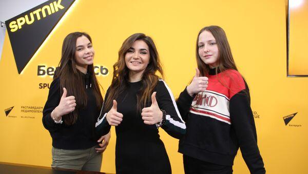 Вера Ярошик, Дарья Чернова и Мария Хархаль - Sputnik Беларусь