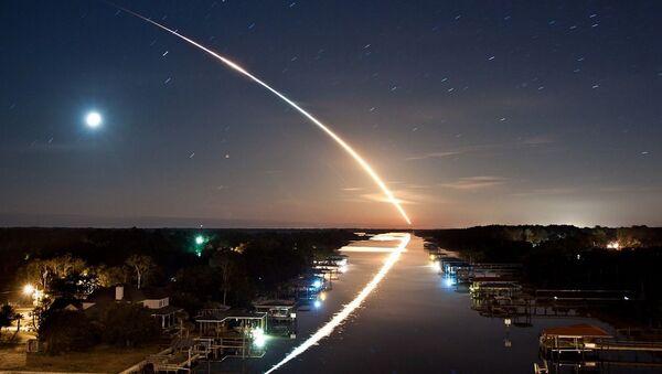 Падение метеорита, архивное фото - Sputnik Беларусь