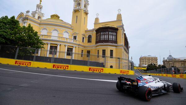 Гонка Формулы-1 на трассе в Баку, архивное фото - Sputnik Беларусь