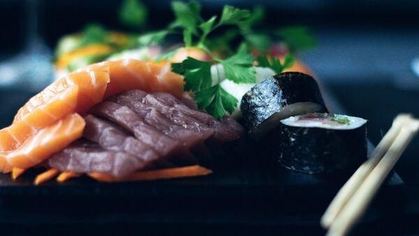 Рыба на тарелке - Sputnik Беларусь