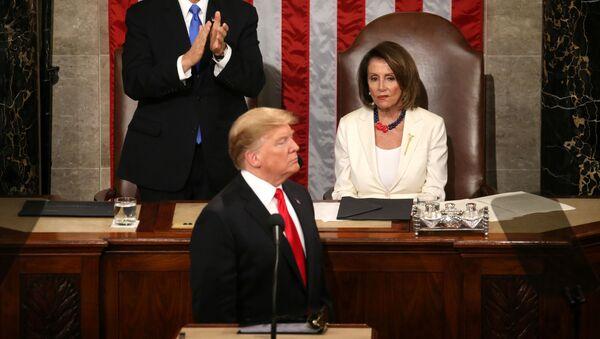 Президент США выступил с ежегодным обращением к Конгрессу  - Sputnik Беларусь