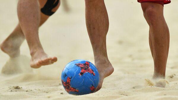 Пляжны футбол, архіўнае фота - Sputnik Беларусь