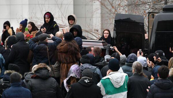 Церемония прощания с рэпером Децлом - Sputnik Беларусь