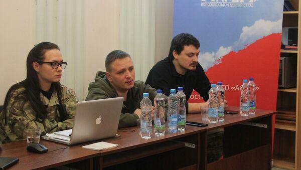 Команда Ангела на встрече с волонтерами из Витебска - Sputnik Беларусь