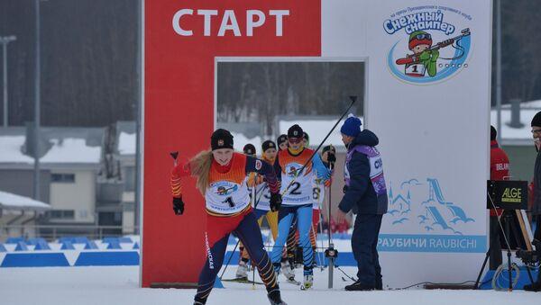 Соревнования Снежный снайпер - Sputnik Беларусь