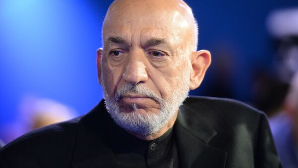 Экс-президент ИРА Хамид Карзай - Sputnik Беларусь