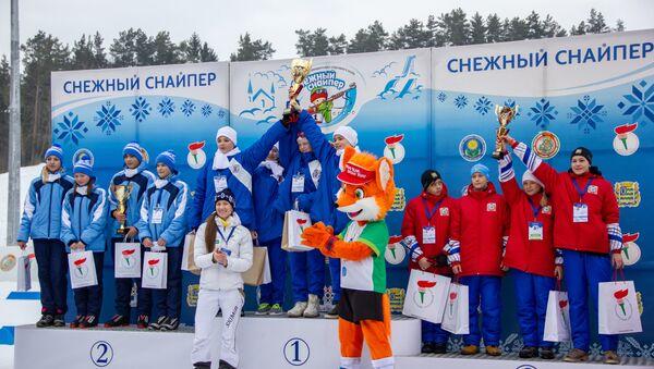 Дарья Домрачева поздравила призеров соревнований - Sputnik Беларусь