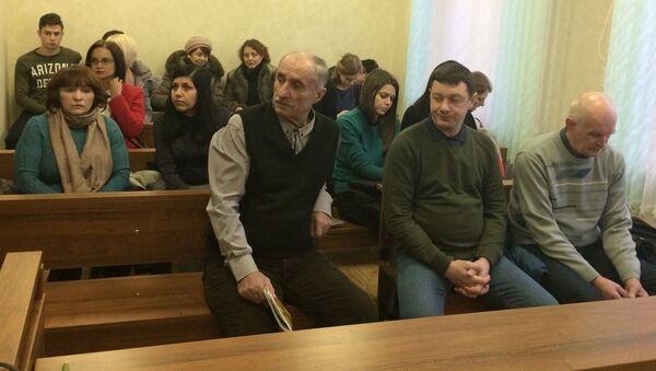 Слева направо: Малашевич, Грушевский и Губаревич - Sputnik Беларусь